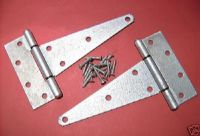 STANLEY. Tee T hinges EXTRA HEAVY DUTY galvanized with screws. 17-3640